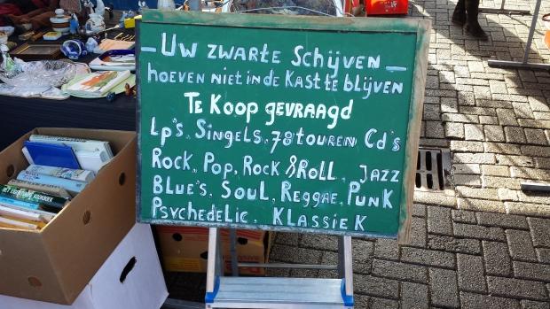 Rommelmarkt Visserijplein Rotterdam Singels