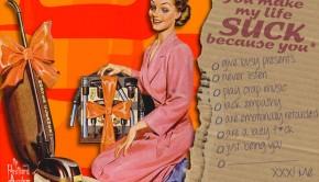 Gesjeesde retro-groeten uit The Postcard Asylum