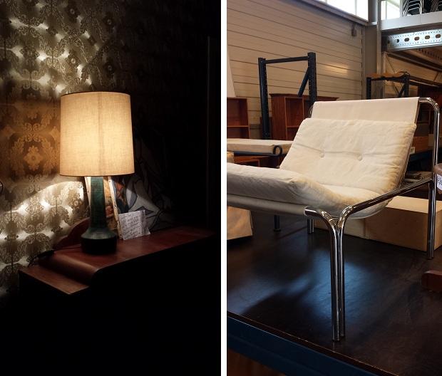 Emmaus Haarzuilens lamp en stoel