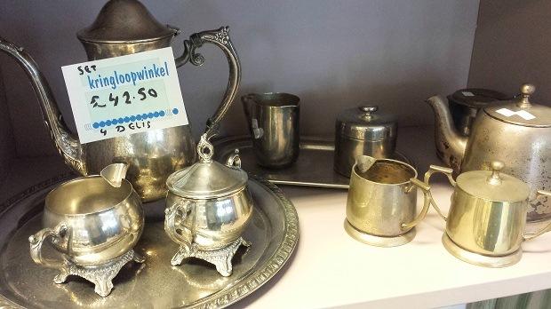 Kringloopwinkel Delft servies