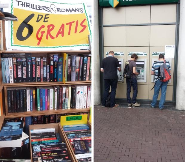 Boekenmarkt Dordrecht pinnen