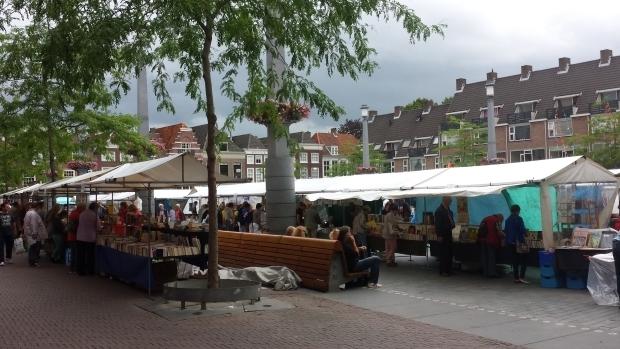Boekenmarkt Dordrecht plein