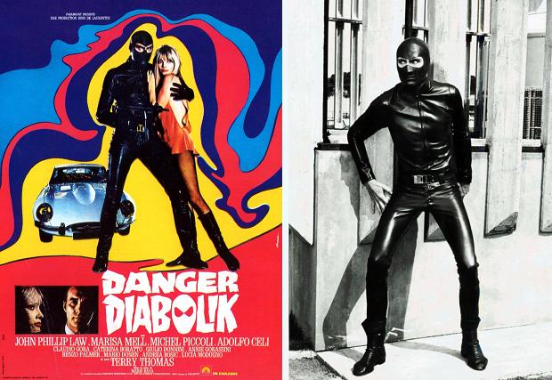 Danger Diabolik cultfilm uit 1968 go with the vlo