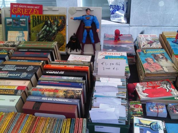 Dordrecht boekenmarkt Superman