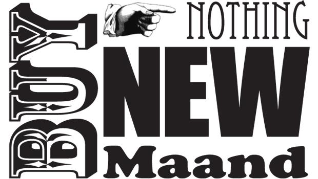 Buy nothing new maand