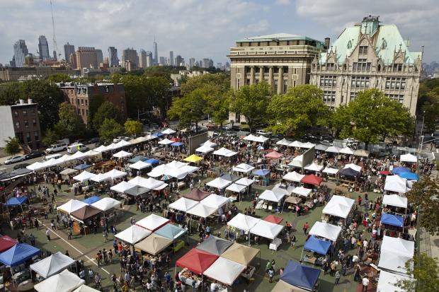 Brooklyn vlooienmarkt