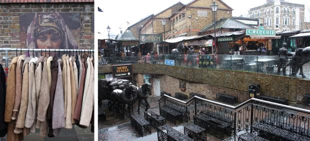 Camden Lock en Portobello Market