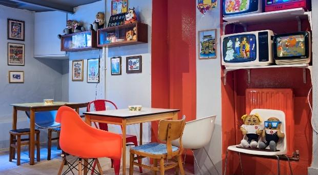 Cereal Killer Cafe interieur 2