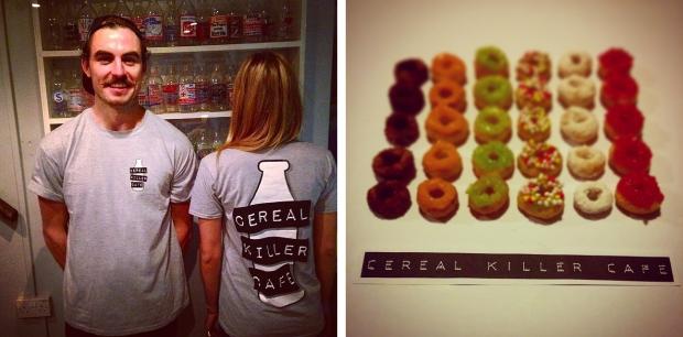 Cereal killer cafe shirts
