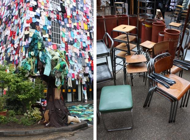 East End Londen Spitalfields Market