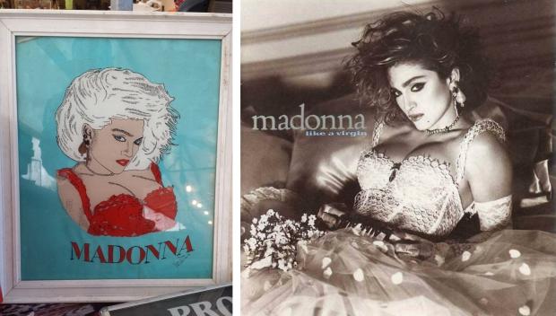 Madonna Like a Virgin rommelmarkt