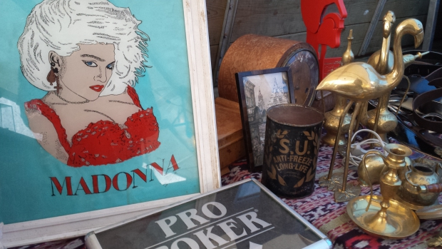 Madonna rommelmarkt Rotterdam