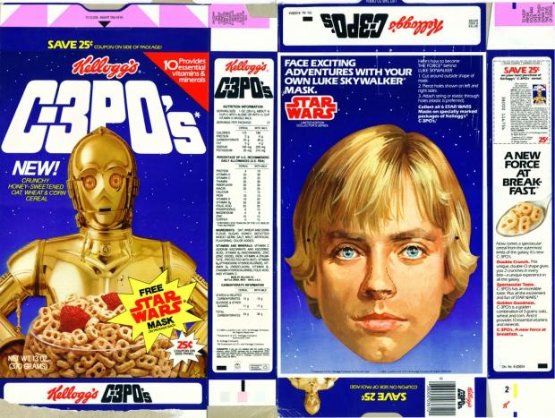 Star Wars cornflakes