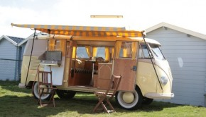 Vintage at Zandvoort busje camping