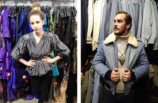 Kilo Shop Le Marais Parijs kleding