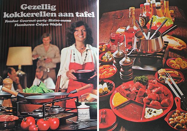 Retrokookboeken-kokerellen-aan-tafel