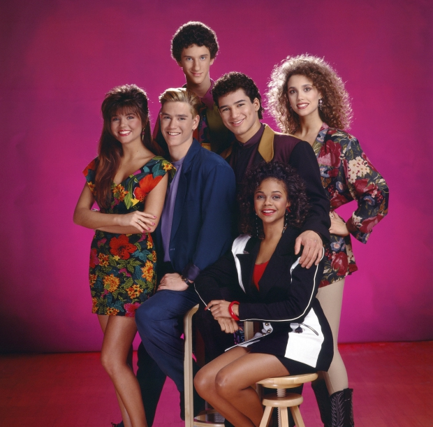 Saved by the bell oude foto