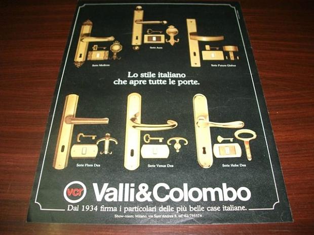 Deurknoppen Valli & Colombo