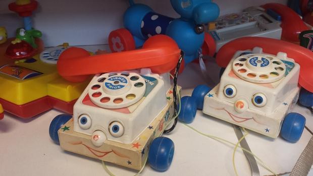 Emmaus Bilthoven Fisher Price telefoons