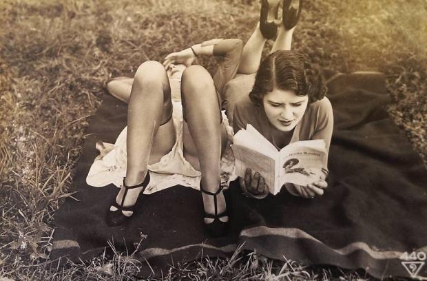 Groeten uit antieke foto vrouwen