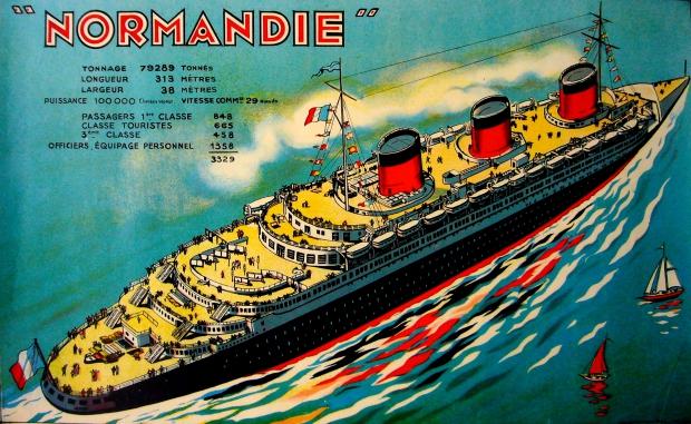 Normandie passagierssch
