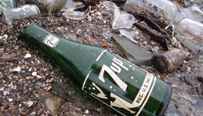 Dead Horse Bay 7-Up fles