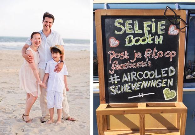 Aircooled Schevingen Sharon Hes en gezin