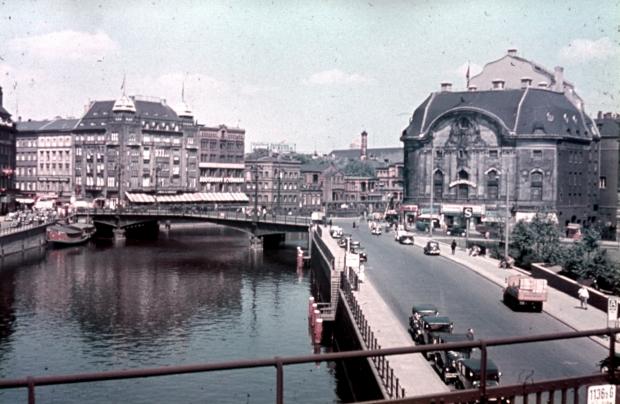 Berlin in frühen Farbdias fotografie 2