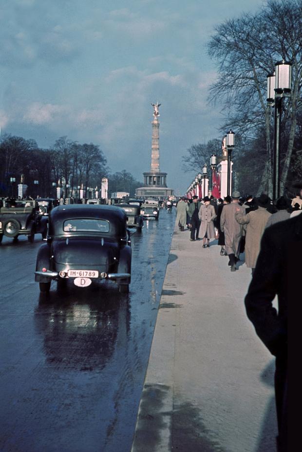 Berlin in frühen Farbdias fotografie 3