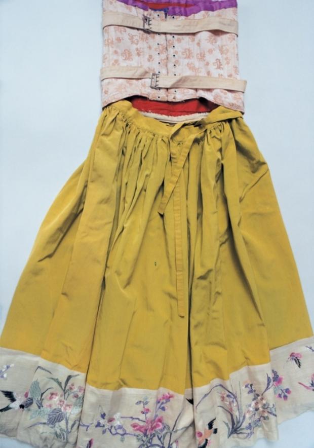 Frida Kahlo gele jurk