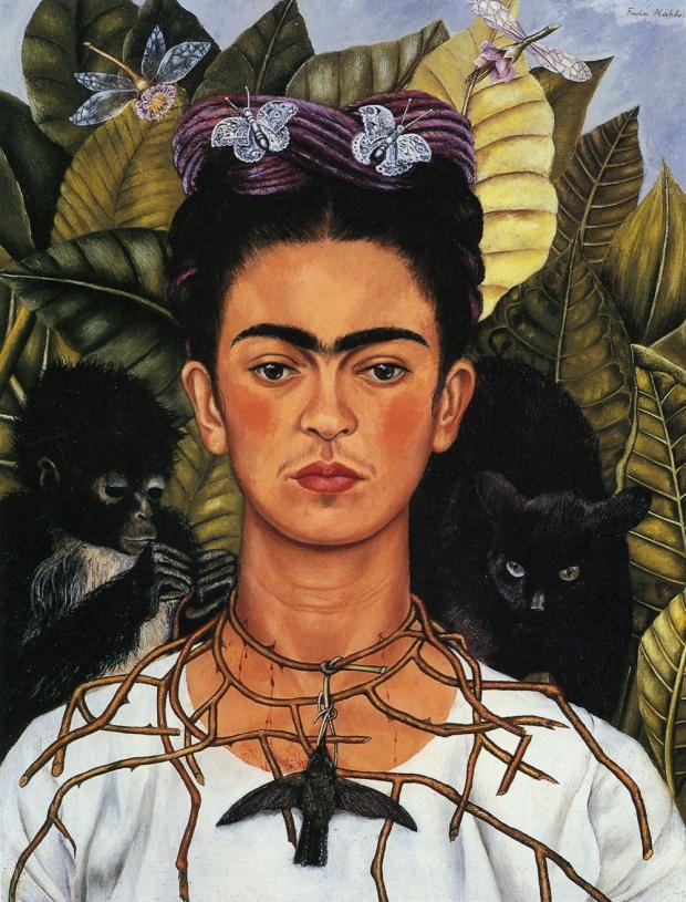 Frida Kahlo schilderij