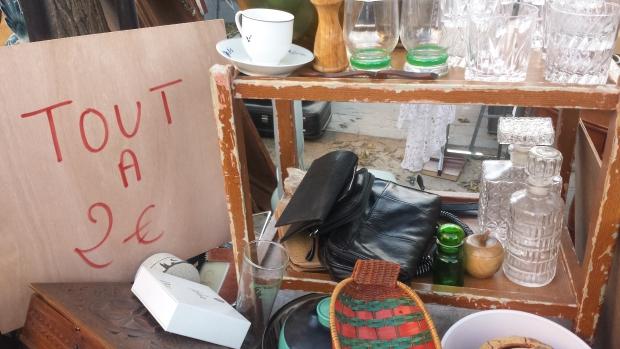 Parijs vlooienmarkt Vanves lage prijzen