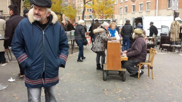 Vanves rommelmarkt Parijs