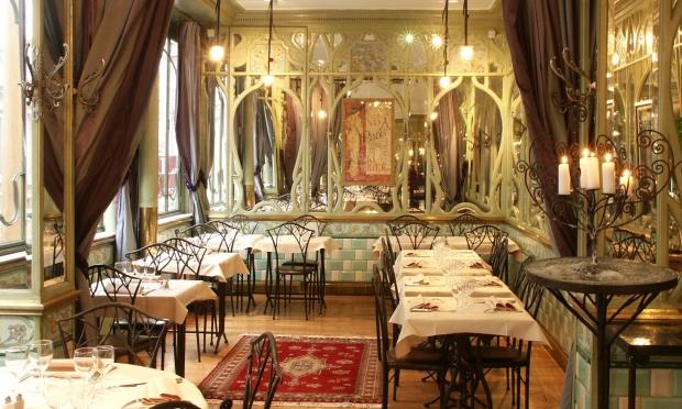 Bouillon Racine restaurant Parijs