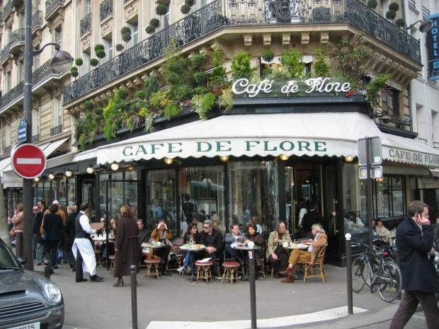 Café de Flore Parijs terras