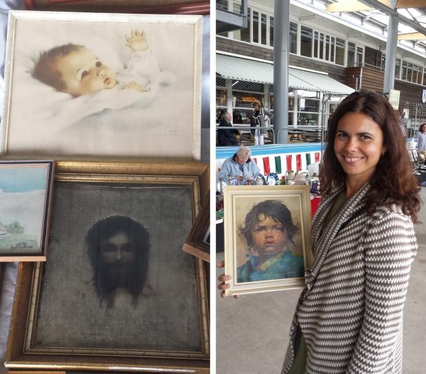 IJsbaan Haarlem Jeanne Brandsma schilderij