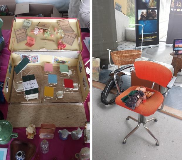 IJsbaan Haarlem rommelmarkt meubels