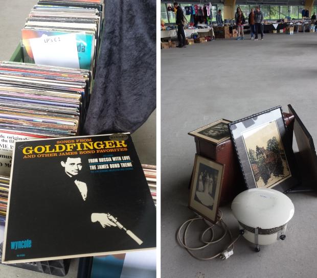 IJsbaan Haarlem rommelmarkt platen
