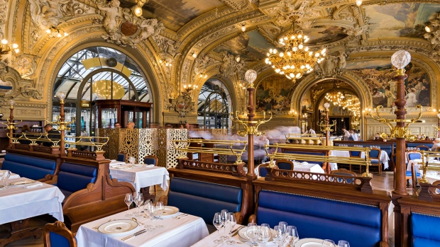 Le Train Bleu restaurant Parijs