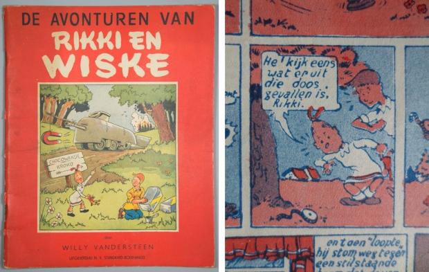 Rikki en Wiske in Chocowakije stripverhaal
