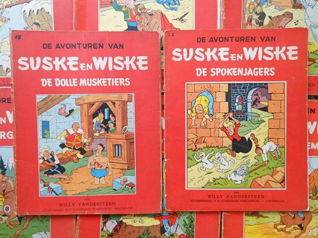 Suske en Wiskes tweekleurendruk