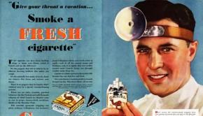 Roken is gezond! (en je wordt er slank van)