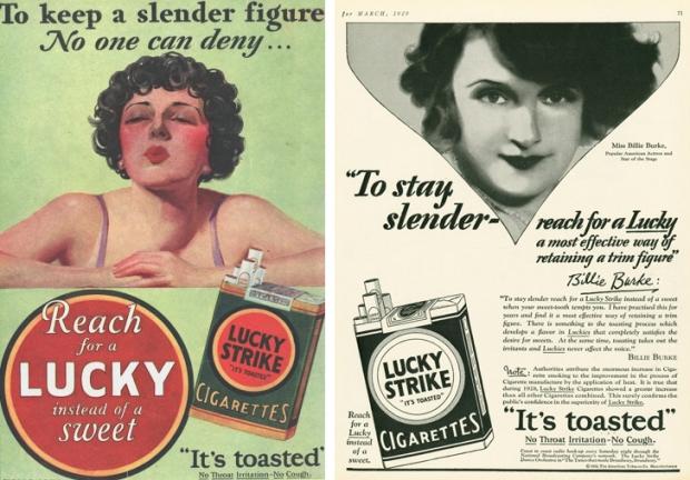 Oude rookreclames afvallen 2