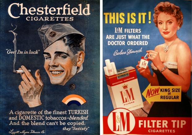 Oude rookreclames dokter
