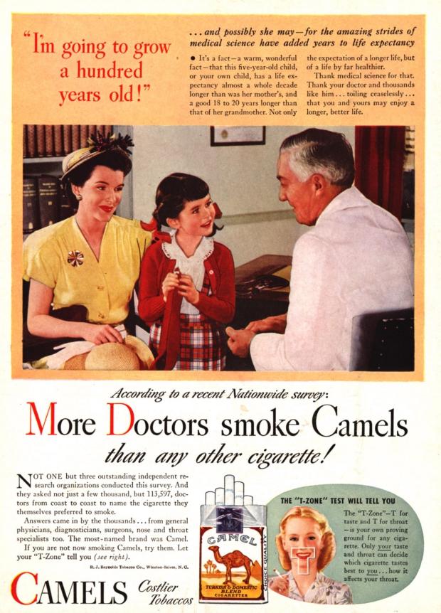 Oude rookreclames honderd jaar oud