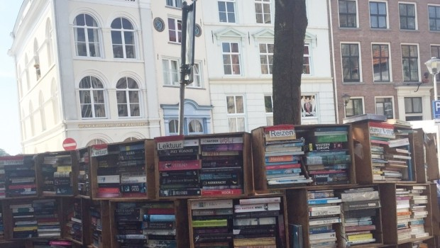 Deventer Boekenmarkt boekenberg