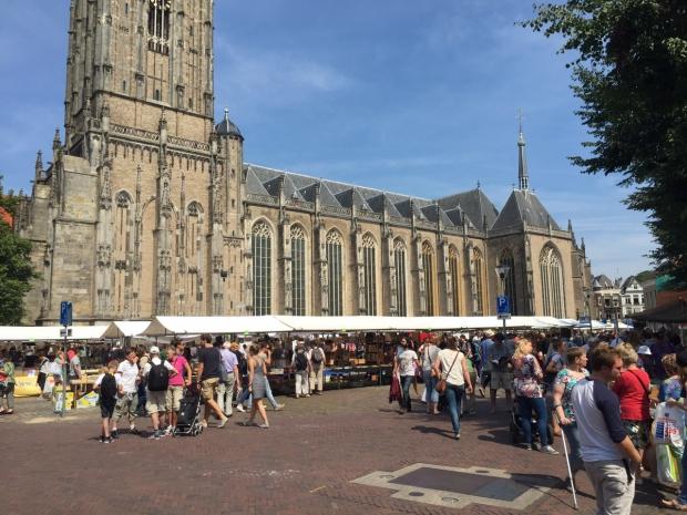 Deventer Boekenmarkt plein