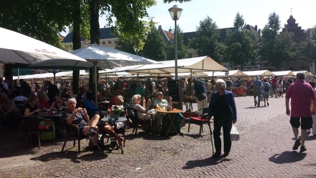 Deventer Boekenmarkt terras