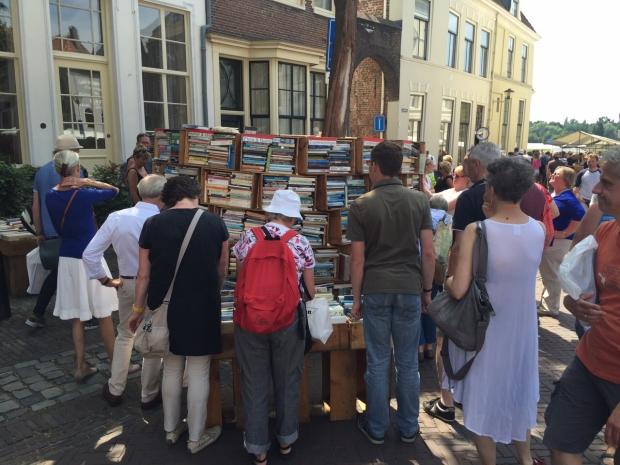 Deventer Boekenmarkt vechten boeken