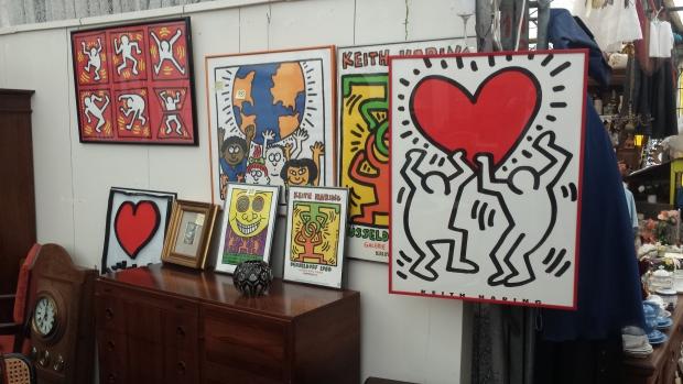 Dusseldorf rommelmarkt Keith Haring
